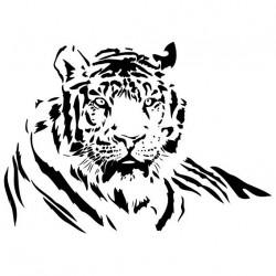 """стикер за кола """"тигър Тханди"""""""