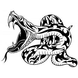 """стикер за кола """"змия Мутони"""""""