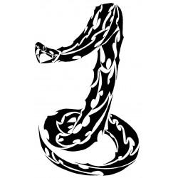 """стикер за кола """"змия Камао"""""""