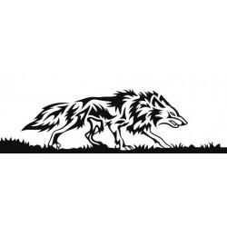 """стикер за кола """"вълк Масего"""""""