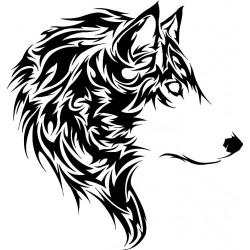 """стикер за кола """"вълк Калисо"""""""