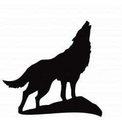 """стикер за кола """"вълк Сандиле"""""""