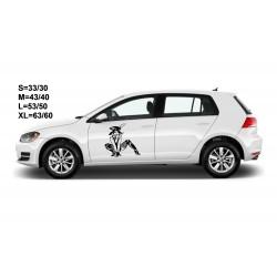 "стикер за кола ""момиче Шая"""