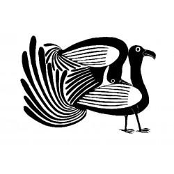 """стикер за кола """"птици Инос-Инуити"""""""