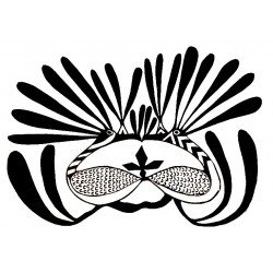 "стикер за кола ""птици Хелиодоро-Инуити"""