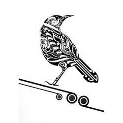 """стикер за кола """"птица Бекс"""""""