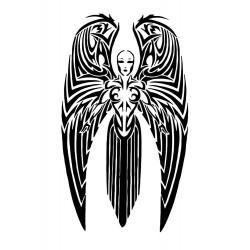 """стикер за кола """"ангел в келтски стил"""""""