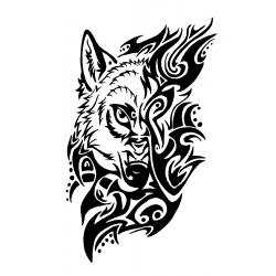 """стикер за кола """"вълк Нуале"""""""