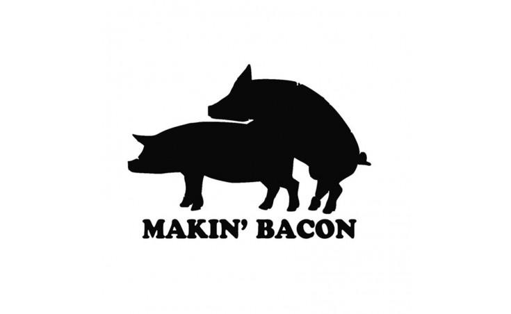 """стикер за кола """"Makin Bakon"""""""