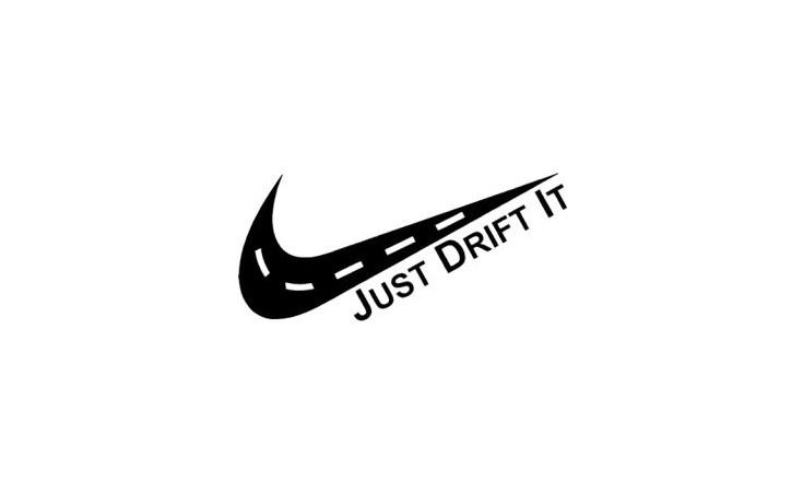 """стикер за кола """"Just Drift it"""""""