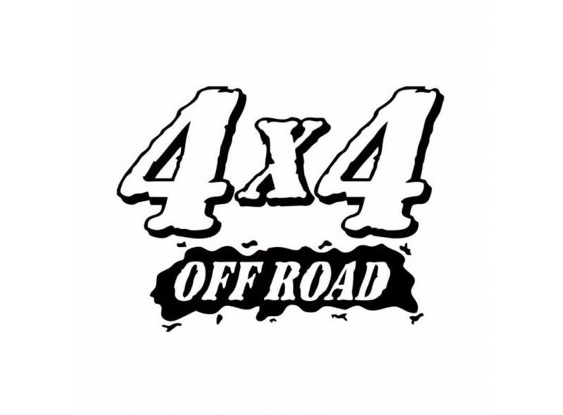 """стикер за кола """"4x4 off road"""""""