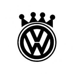 """стикер за кола """"VW Корона"""""""