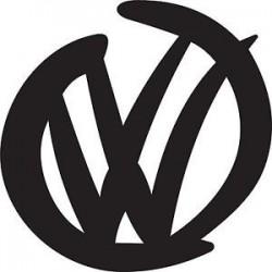 "стикер за кола ""VW лого"""