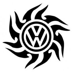 """стикер за кола """"VW слънце"""""""
