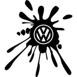 "стикер за кола ""VW лого- вариация"""