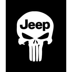"""стикер за кола """"Jeep Наказателят"""""""