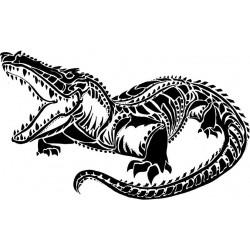 "стикер за кола ""алигатор Голбахар"""