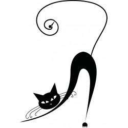 """стикер за кола """"котка Нейл"""""""