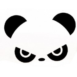 """стикер за кола """"панда Коло"""""""